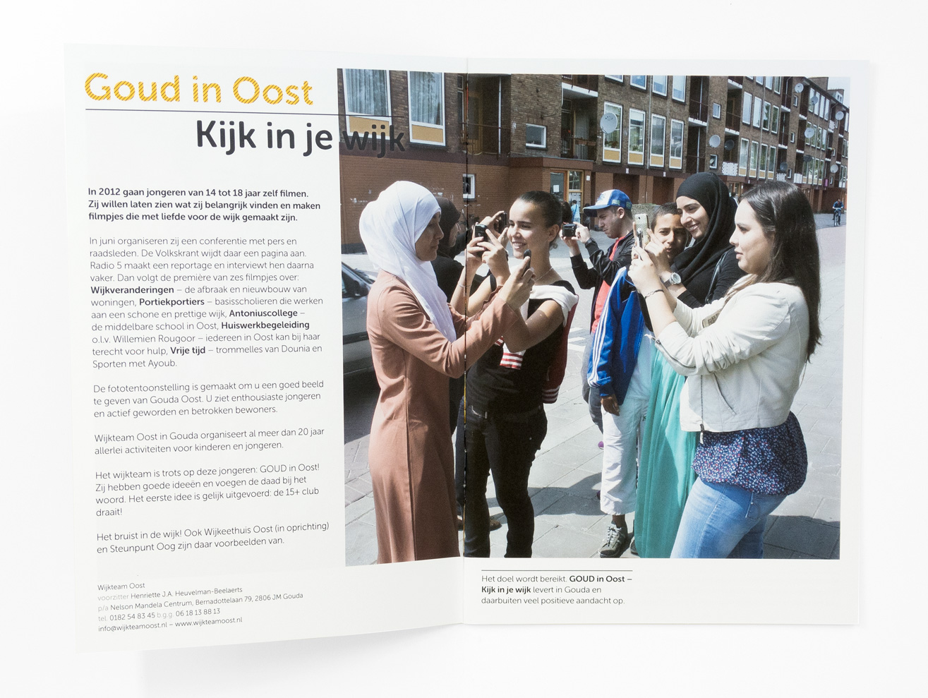Goud in Oost brochure