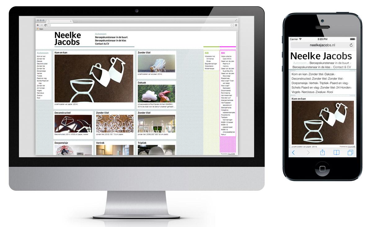 Website, portfolio A