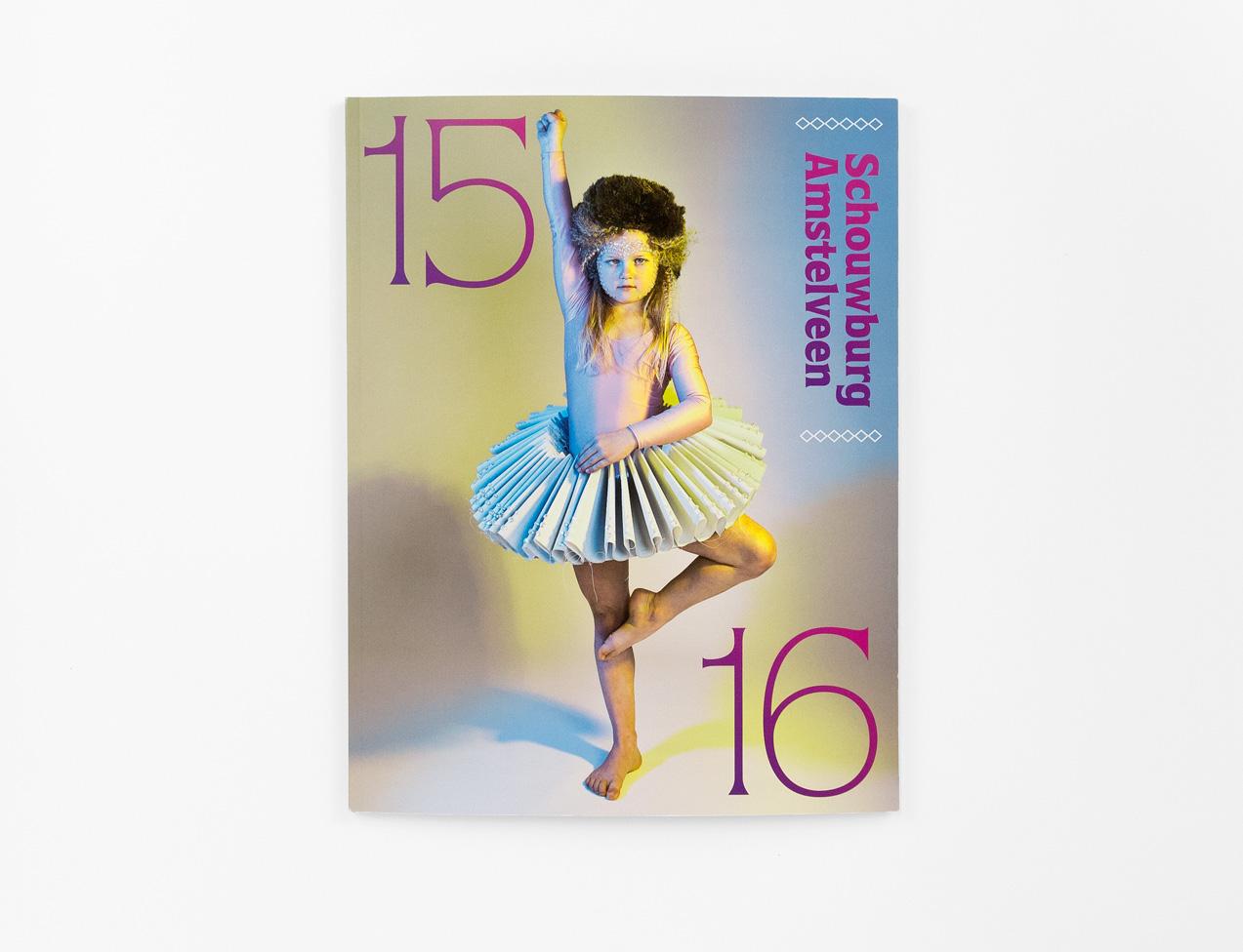 Brochure Schouwburg Amstelveen, omslag