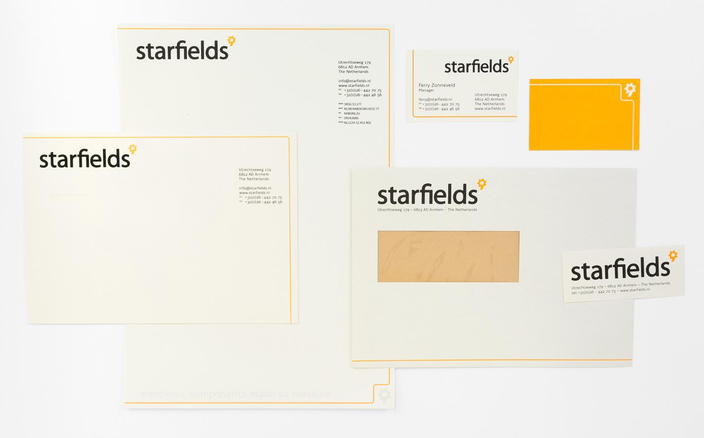 Starfields',overzicht stationary